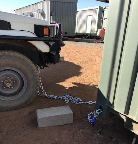 2460 Bushmob car chain OK