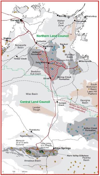 2460 fracking map OK