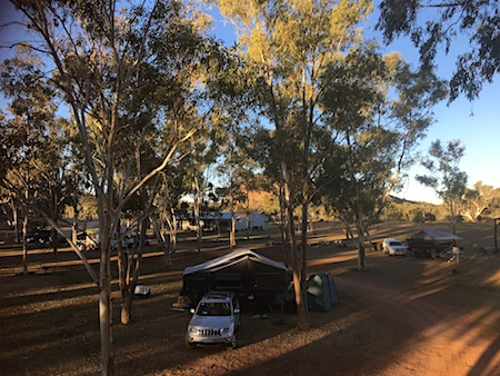 2468 Ross River campground 1