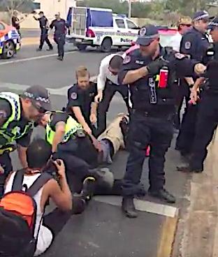 2482 Police & protestors