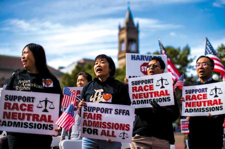 25103 Protesters against Harvard OK