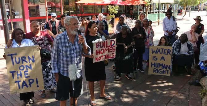 2565 Whitegate protest