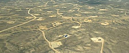2595 fracking field OK