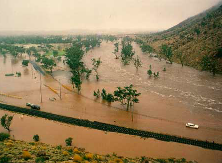 2622 Gap in 1988 flood