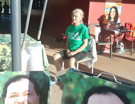2638 Greens campaign worker OK