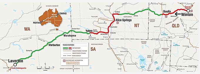 2043 outback highway map