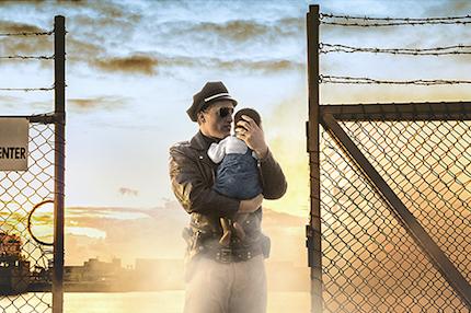 p2470 Tracey Moffatt 12. Cop and Baby (Passage Series) copy