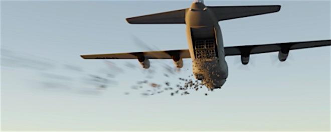 p2623 Killerbots plane FLI 660